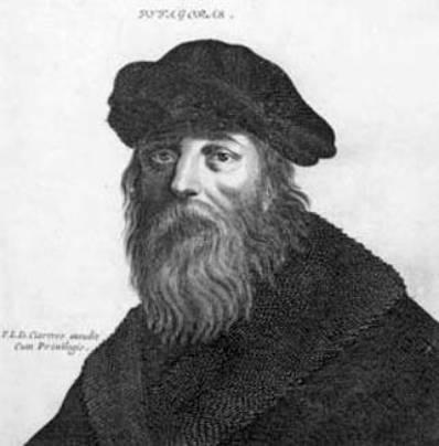 Pythagoras er opkalde efter en g